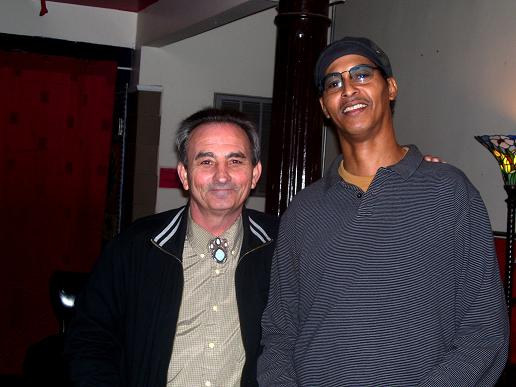 Allan Hatten and Eddie Blue Dawson at The JAva Joint 2-1-2011