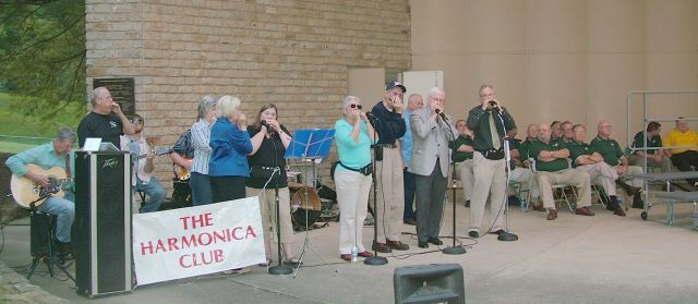 The Harmonica Club plays Let Freedom Ring 2009